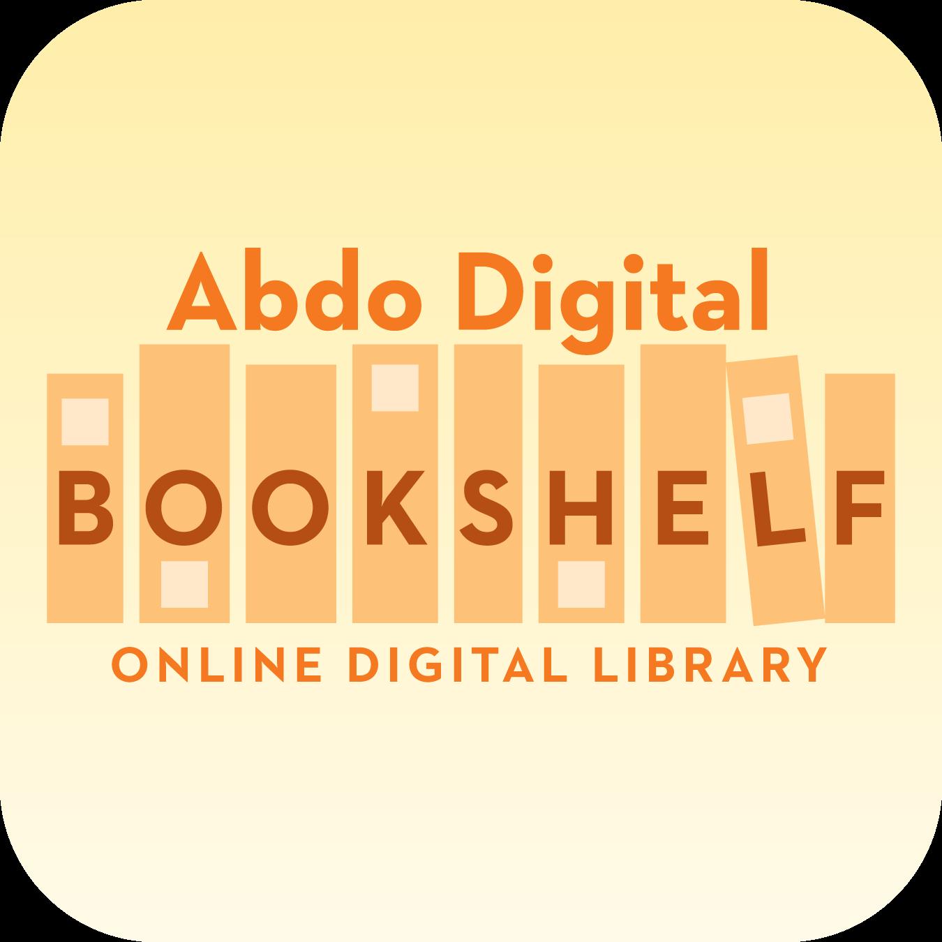 Abdo Digital Bookshelf Button