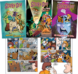 Scooby-Doo Graphic Novels Set 2