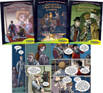 Graphic Novel Adventures of Sherlock Holmes Set 1