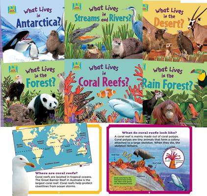 Animal Habitats - Lessons - Tes Teach