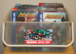 The Avengers Book Club Bin 1