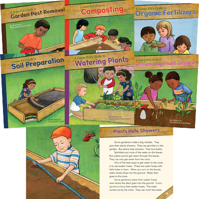 A Green Kid's Guide to Gardening! Series